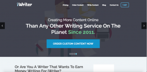 make money online writing web content for iWriter
